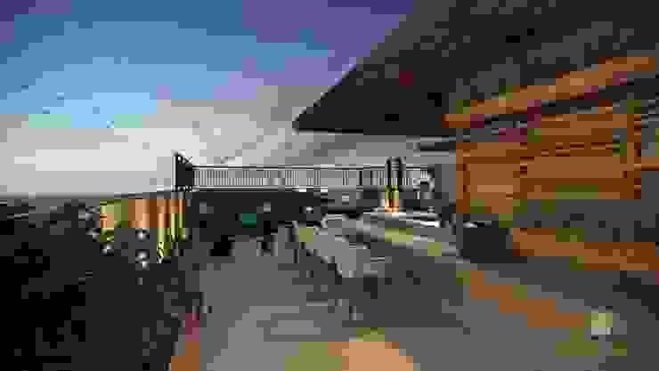 Reforma Apartamento Place Varandas, alpendres e terraços modernos por STUDIO 52 Moderno