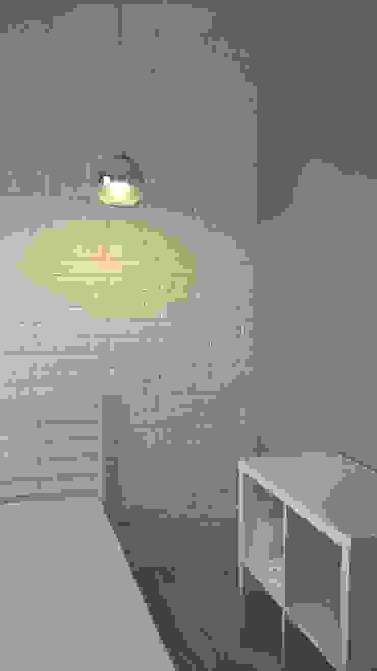 mieszkanie Wrocław Minimalistyczna sypialnia od Julia Domagała wnętrza Minimalistyczny
