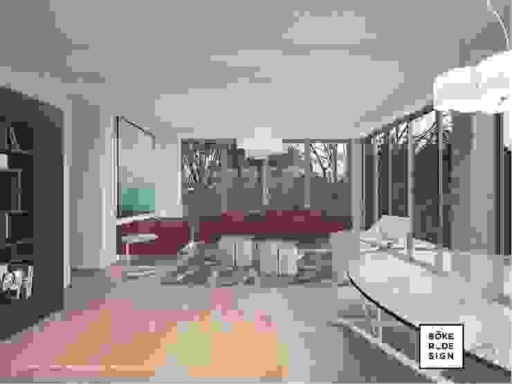 Akdeniz Oturma Odası Böker Design Studio Akdeniz