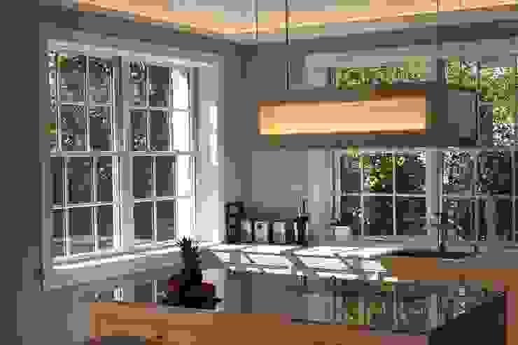 MANSION MINSTER Kitchen Klassische Küchen von THE WHITE HOUSE american dream homes gmbh Klassisch