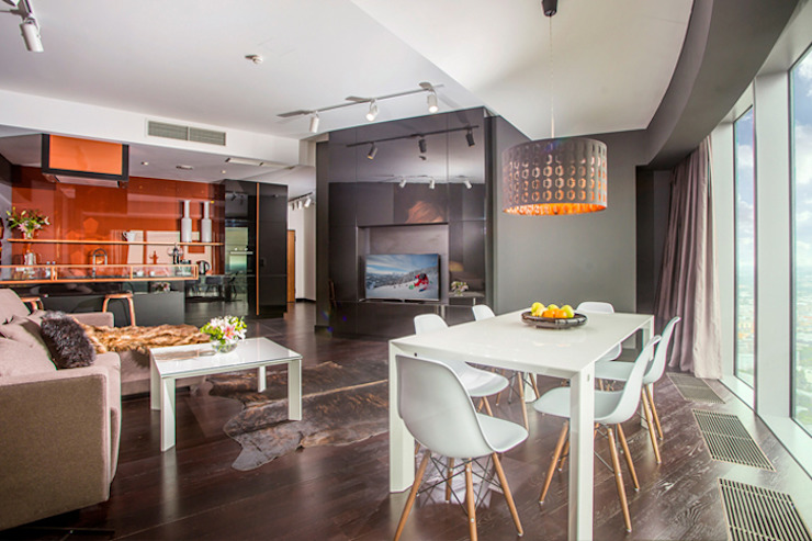 APARTMENT 1 Modern Dining Room by 2kul INTERIOR DESIGN Modern Wood Wood effect