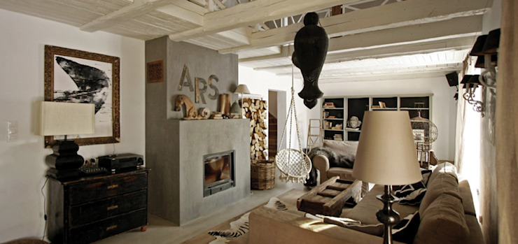 Eclectic style living room by 2kul INTERIOR DESIGN Eclectic Wood Wood effect