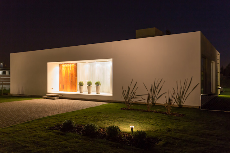 Casas de estilo  de VISMARACORSI ARQUITECTOS, Moderno