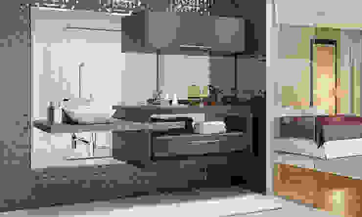 Fabrik Ambientes Planejados BathroomMedicine cabinets MDF