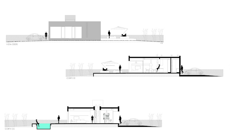 modern  by VISMARACORSI ARQUITECTOS, Modern