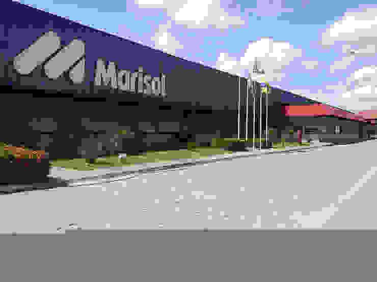 Marisol Nordeste Espaços comerciais industriais por Aurion Arquitetura e Consultoria Ltda Industrial
