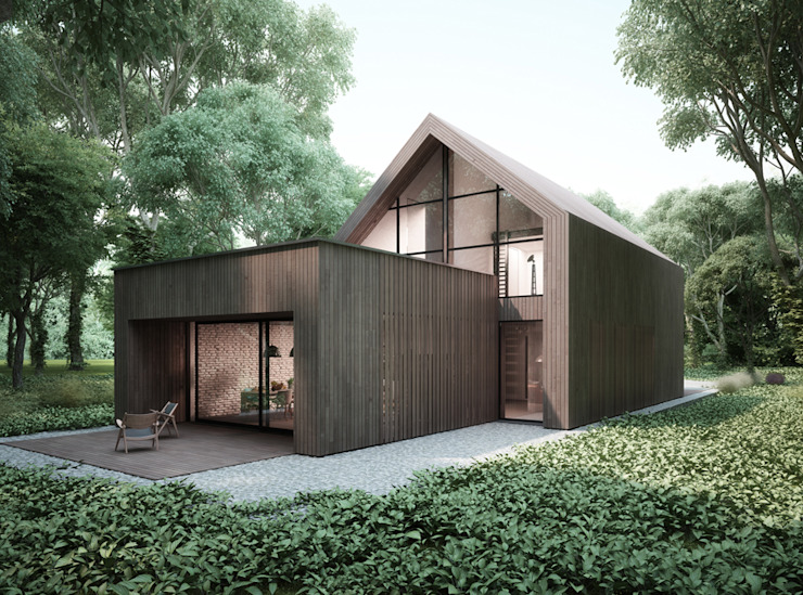 Majchrzak Pracownia Projektowa Maisons modernes