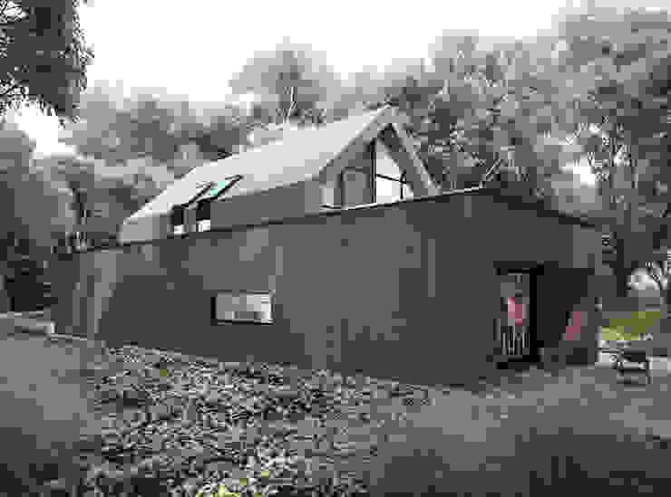 Moderne huizen van Majchrzak Pracownia Projektowa Modern