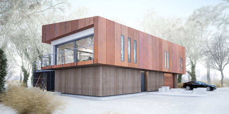 Majchrzak Pracownia Projektowa Modern Evler