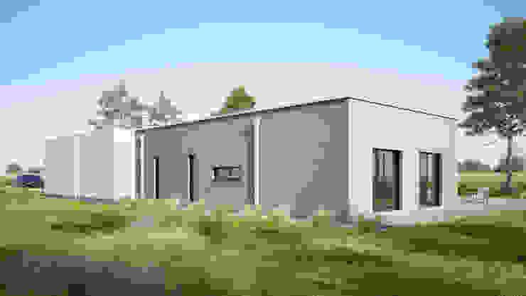 Casas modernas: Ideas, imágenes y decoración de Majchrzak Pracownia Projektowa Moderno