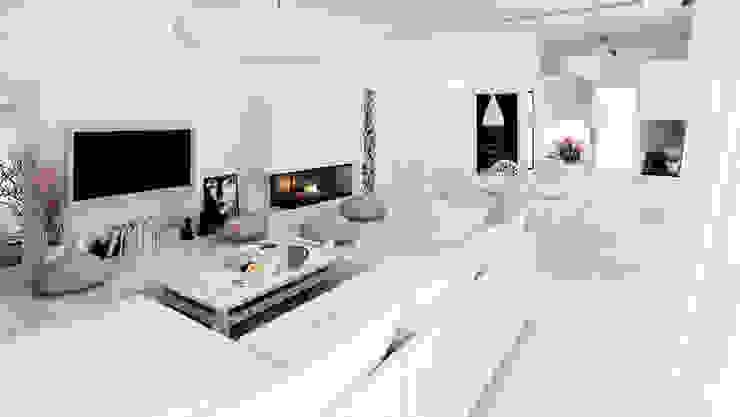 Majchrzak Pracownia Projektowa Modern Oturma Odası