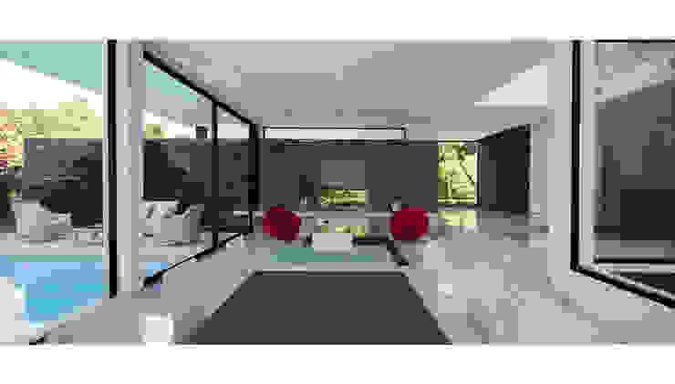 CASA CARRARA Jardines modernos: Ideas, imágenes y decoración de Remy Arquitectos Moderno