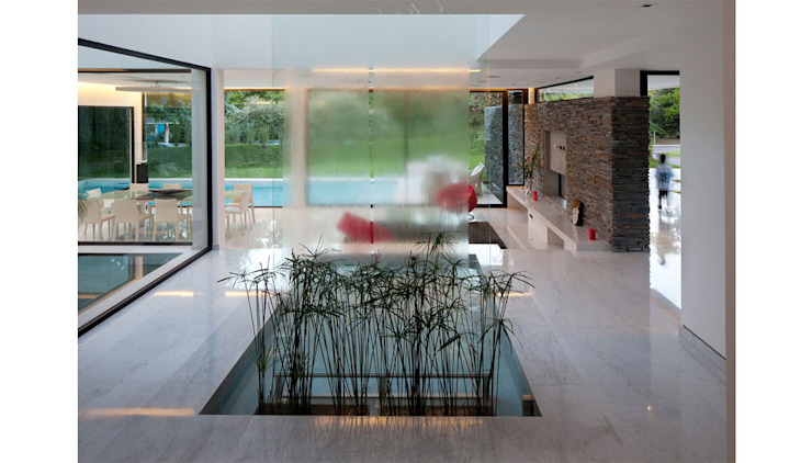 Remy Arquitectos Modern style conservatory