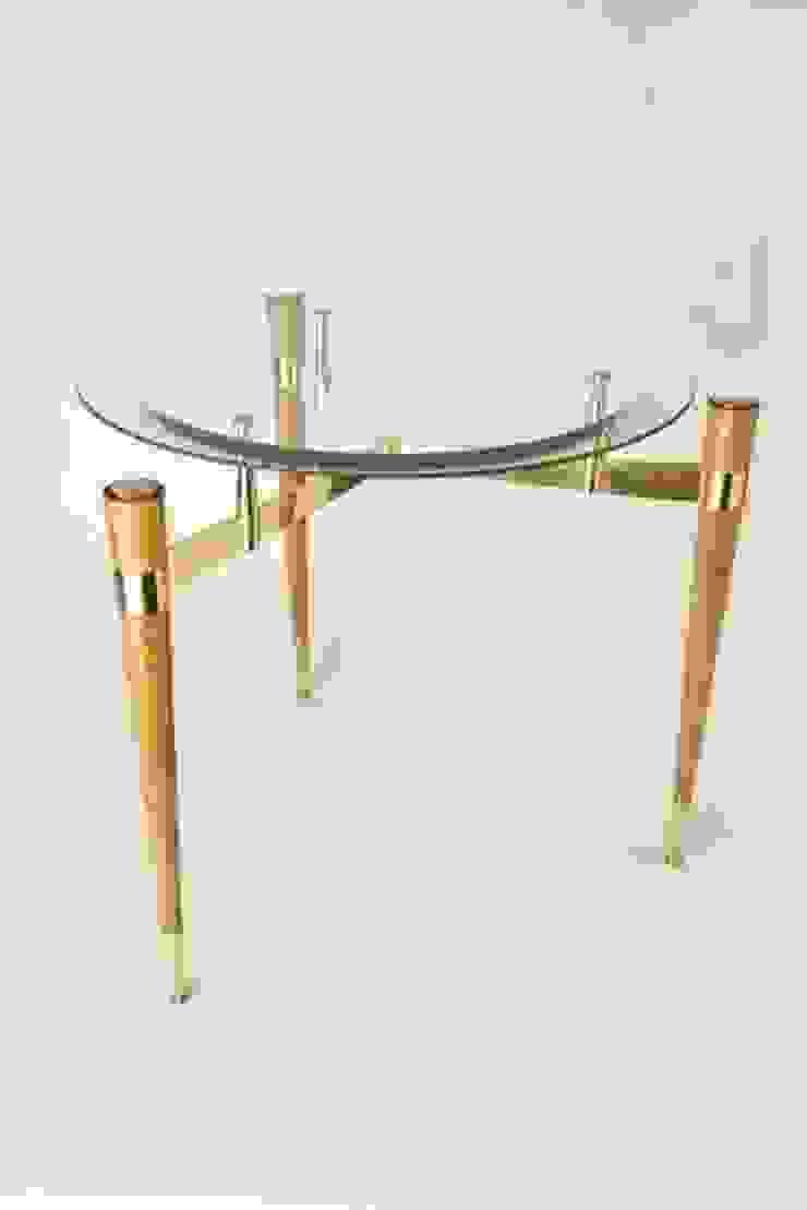 Столик по дизайну Алены Дзуцевой:  в современный. Автор – NICE CATCH , Модерн