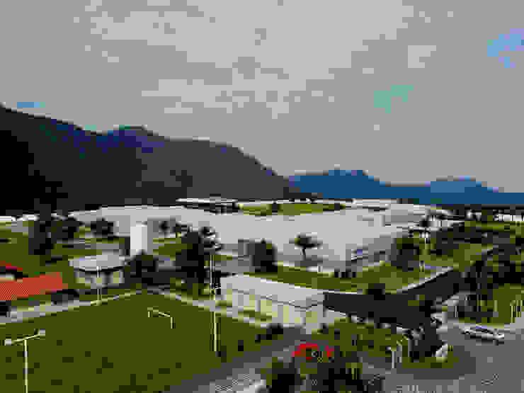 Liko Massapê Espaços comerciais industriais por Aurion Arquitetura e Consultoria Ltda Industrial