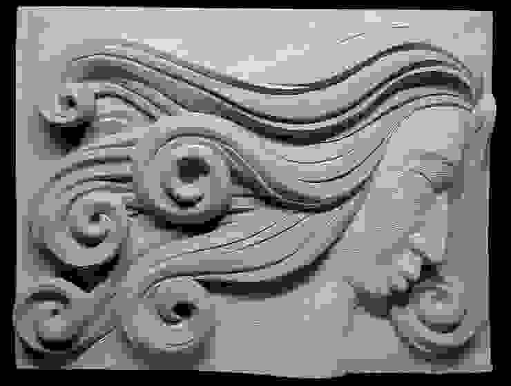 Somnia Beeldhouwerij van Velzen Kunst Sculpturen Zandsteen Grijs