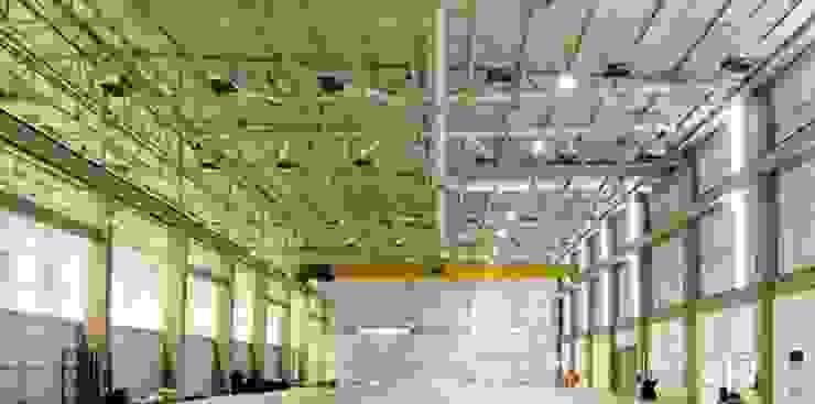 Aeris Energy Espaços comerciais industriais por Aurion Arquitetura e Consultoria Ltda Industrial