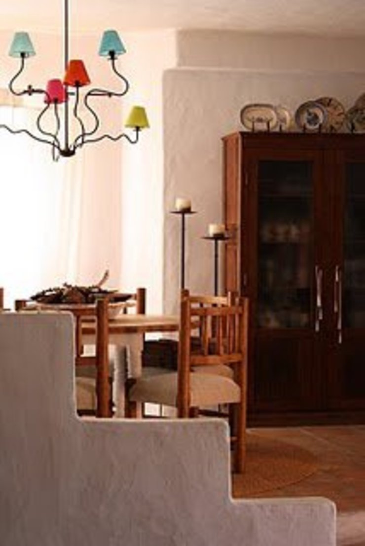 Ambientes exóticos Salas de jantar mediterrânicas por Alpendre Decoração Mediterrânico