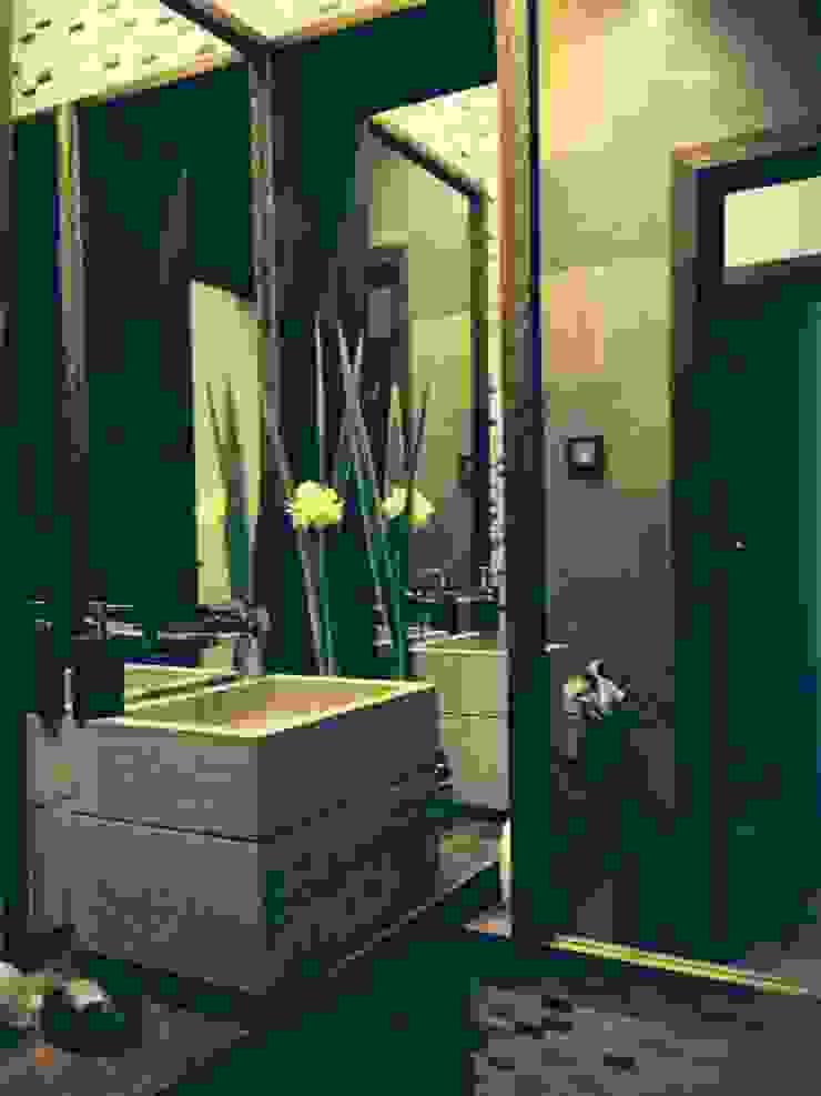 Moradia D+IF Casas de banho ecléticas por Space Invaders _ Arquitectura e Design Eclético