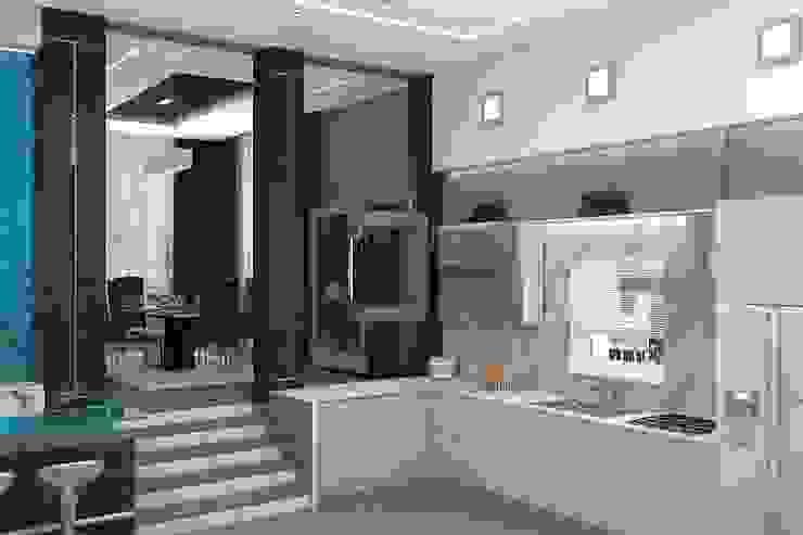 Cocinas de estilo minimalista de Дизайн студия Жанны Ращупкиной Minimalista
