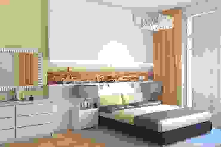 Dormitorios de estilo minimalista de Дизайн студия Жанны Ращупкиной Minimalista