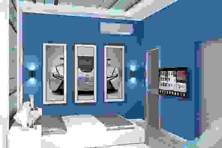 Dormitorios infantiles de estilo minimalista de Дизайн студия Жанны Ращупкиной Minimalista