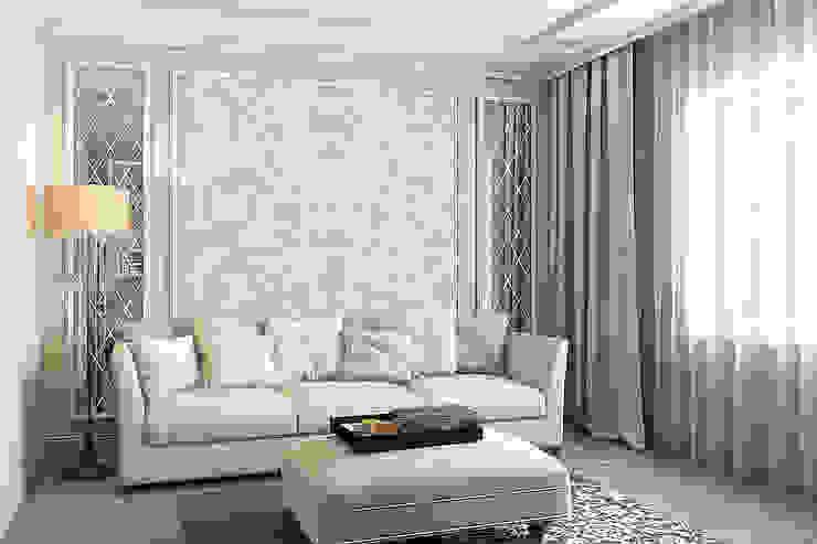 Гостиная Гостиная в классическом стиле от Дизайн студия Жанны Ращупкиной Классический