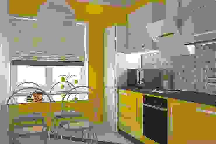 Kitchen by Дизайн студия Жанны Ращупкиной,