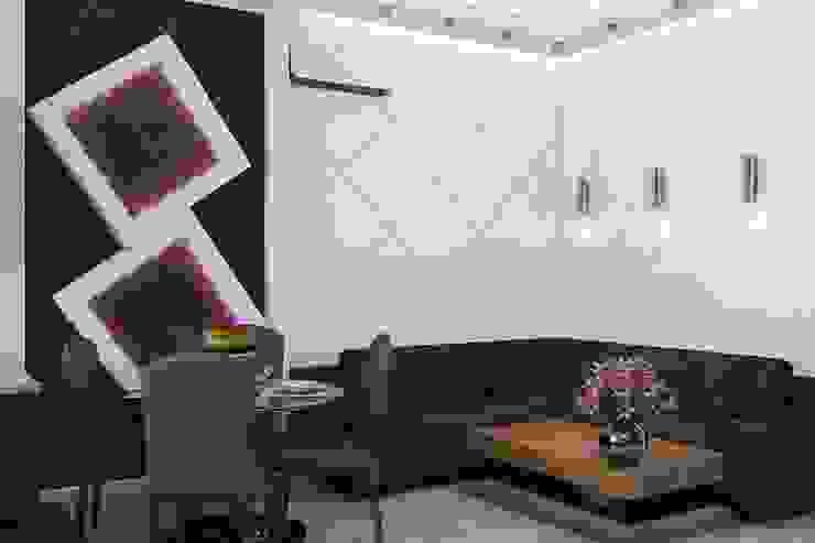 Гостиная Гостиная в стиле минимализм от Дизайн студия Жанны Ращупкиной Минимализм