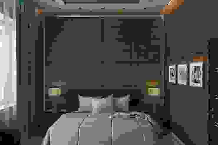 Спальня Спальня в стиле минимализм от Дизайн студия Жанны Ращупкиной Минимализм