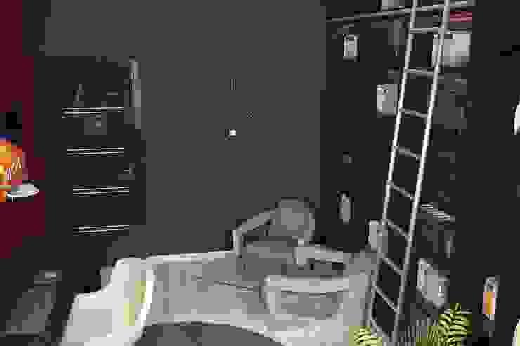 Кабинет Рабочий кабинет в стиле минимализм от Дизайн студия Жанны Ращупкиной Минимализм