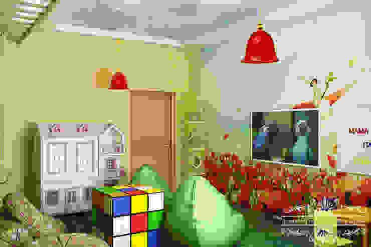 Детская Детская комната в стиле модерн от Дизайн студия Жанны Ращупкиной Модерн