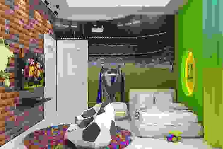 Детская в футбольном стиле Детская комната в стиле модерн от Дизайн студия Жанны Ращупкиной Модерн