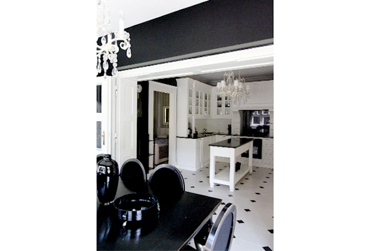 Classic style dining room by 2kul INTERIOR DESIGN Classic Stone