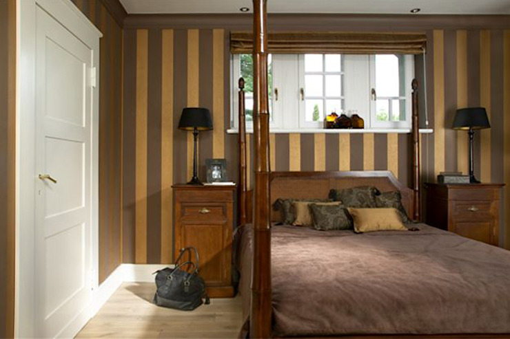 Colonial style bedroom by 2kul INTERIOR DESIGN Colonial Wood Wood effect