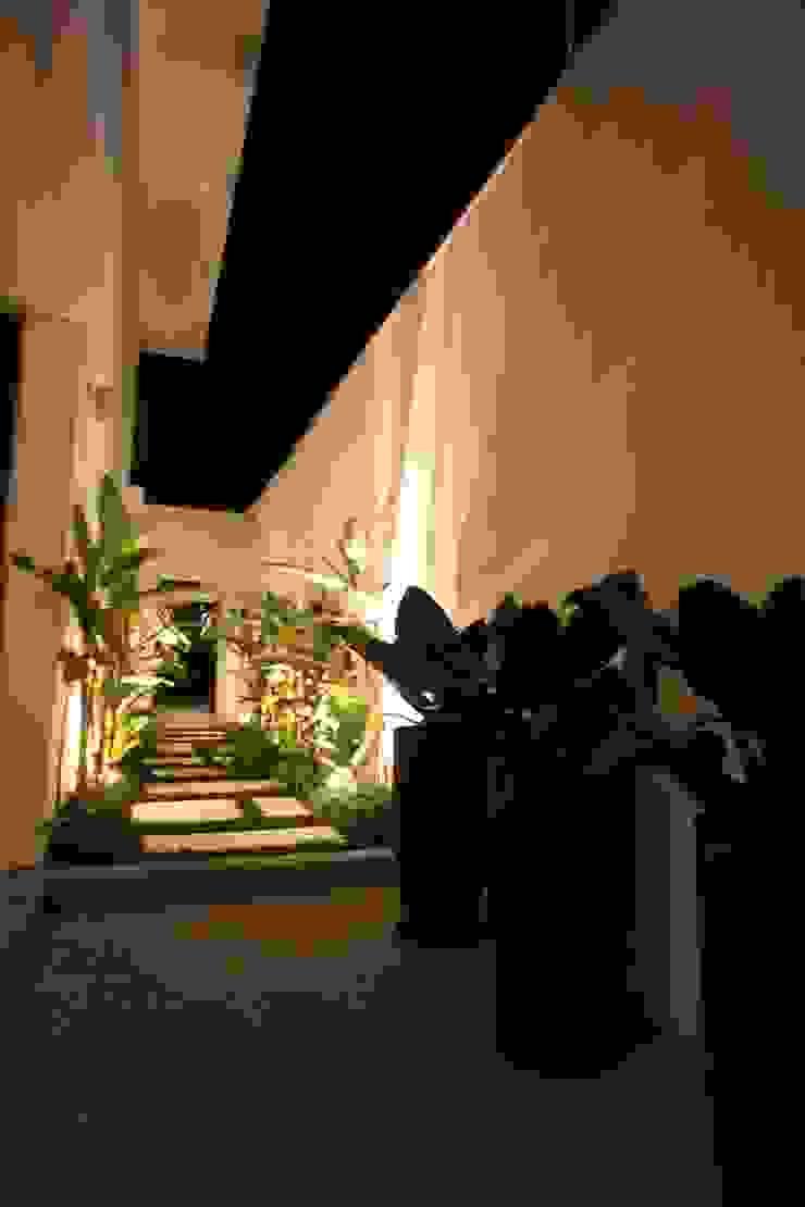 Residência Alto de Pinheiros Jardins tropicais por HZ Paisagismo Tropical