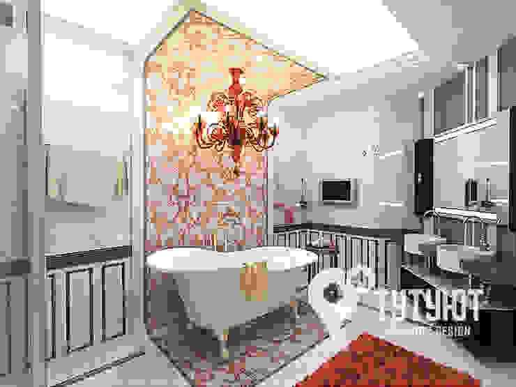 Baños clásicos de Interior Design Studio Tut Yut Clásico Cerámico