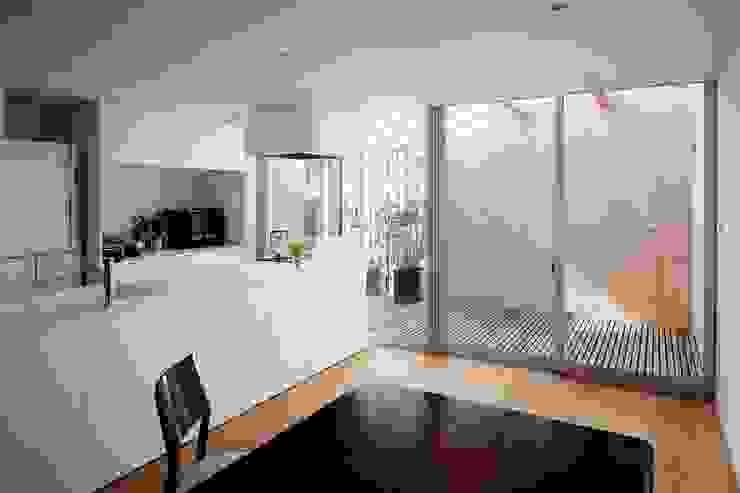ディンプル建築設計事務所 Kitchen Marble White