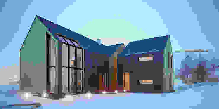Casas  por Majchrzak Pracownia Projektowa, Moderno