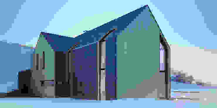 Projekty domów - House x_03 Nowoczesne domy od Majchrzak Pracownia Projektowa Nowoczesny