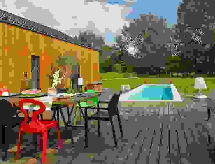 Modern terrace by stando interior design Modern
