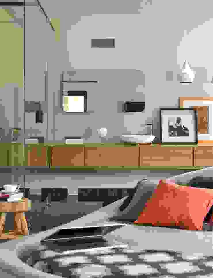 Dom Nowoczesna sypialnia od stando interior design Nowoczesny