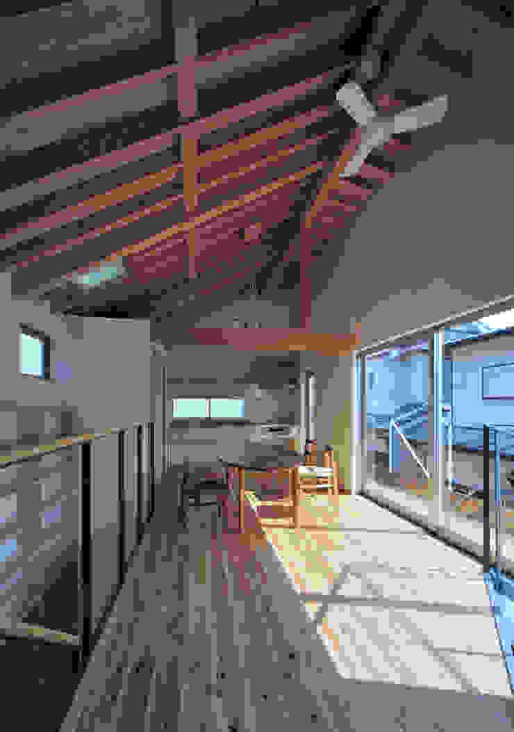 FuruichiKumiko ArchitectureDesignOffice 现代客厅設計點子、靈感 & 圖片