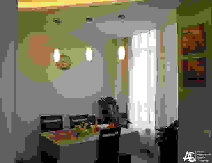 квартира на 120 кв.м в ЖК <q>Французский</q> Столовая комната в стиле модерн от Алина Березинская Модерн