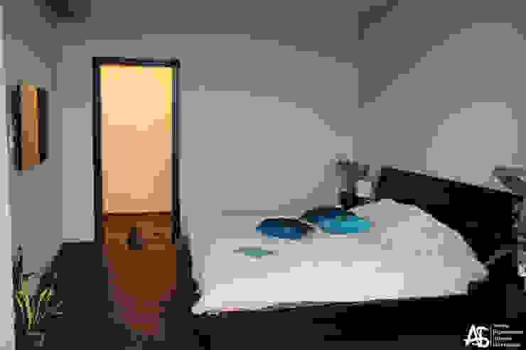 квартира на 120 кв.м в ЖК <q>Французский</q> Спальня в стиле модерн от Алина Березинская Модерн