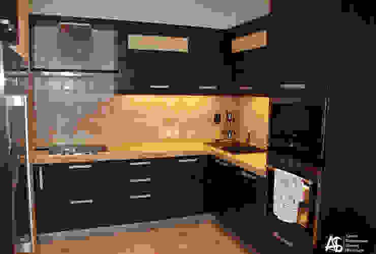 квартира на 120 кв.м в ЖК <q>Французский</q> Кухня в стиле модерн от Алина Березинская Модерн