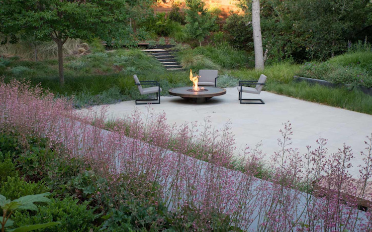 Modern Garden by Paul Marie Creation Garden Design & Swimmingpools Modern