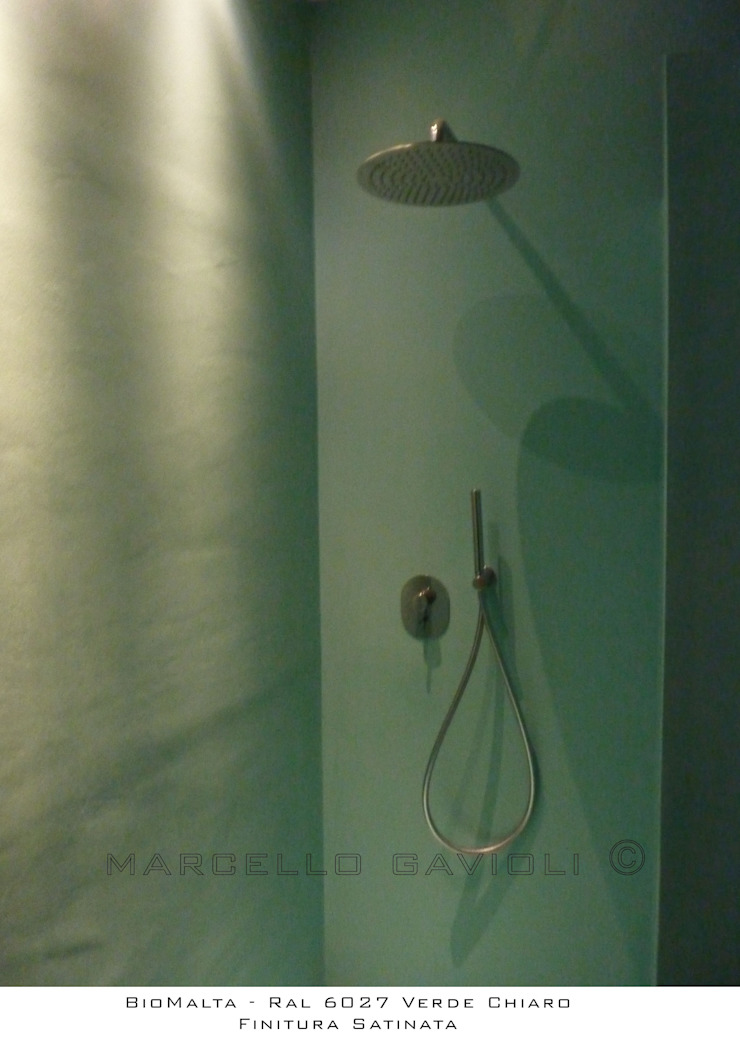 Marcello Gavioli Minimalist style bathrooms Green