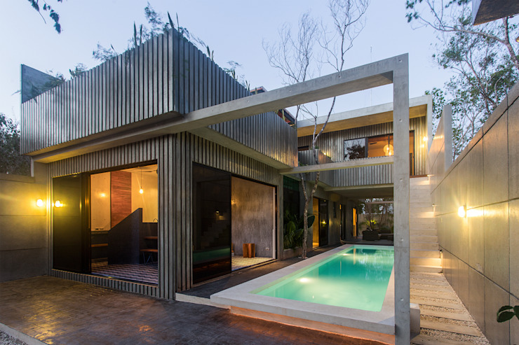 Piscinas de estilo moderno de Studio Arquitectos Moderno