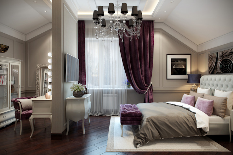 Bedroom by Design Studio Details, Eclectic